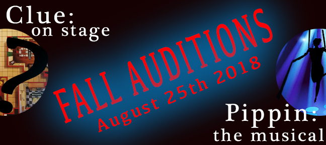 Audition Info Coming Soon