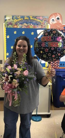 Ms. Unger is the DHES 2019-2020 Teacher of the Year