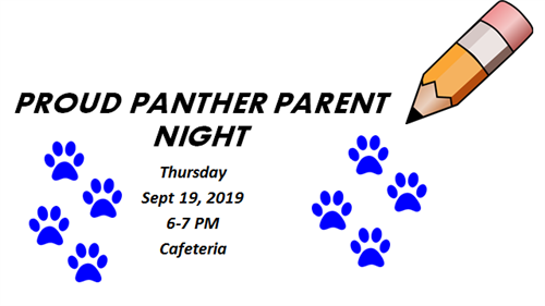 Proud Panther Parent Night