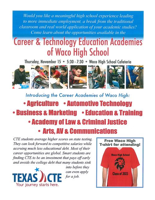 CTE Open House