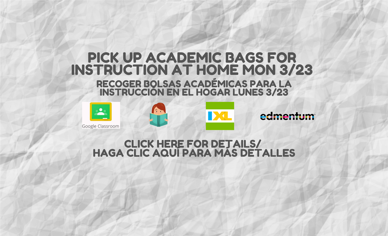 Academic Bags for Home + Homework Plan