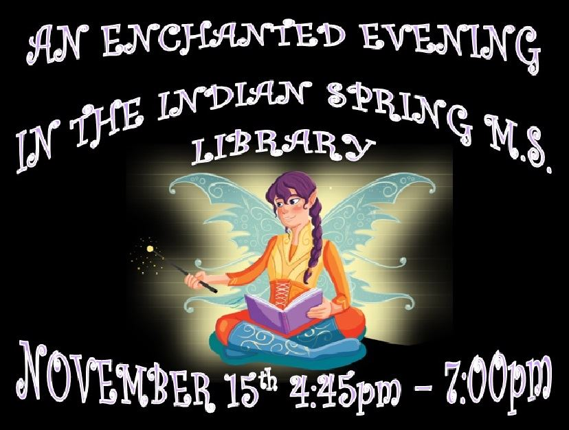 An Enchanted Evening in the Library