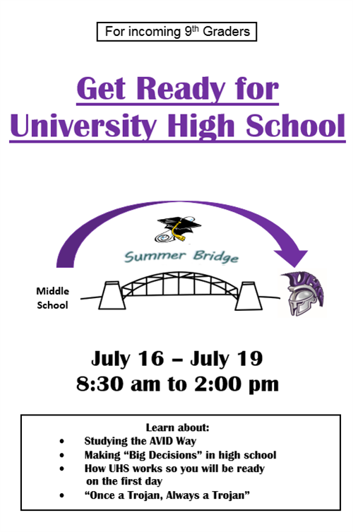 Summer Bridge Flier