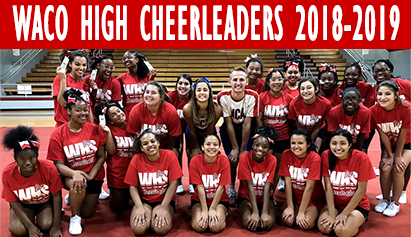 Waco Cheerleaders attended camp July 9th-11th
