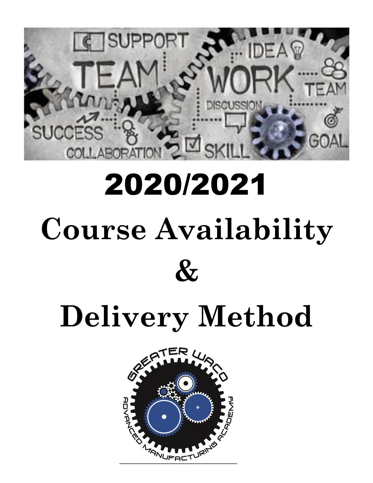 Course Availability & Delivery Method