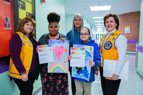 Two South Waco Elementary students win poster contest