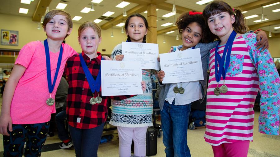 Students enjoy competing at elementary UIL A+ Academics district meet