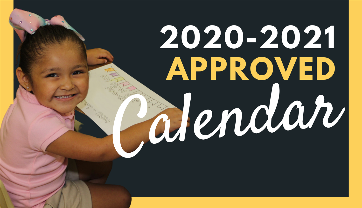 Updated: WISD Board of Trustees approves new 2020-2021 calendar