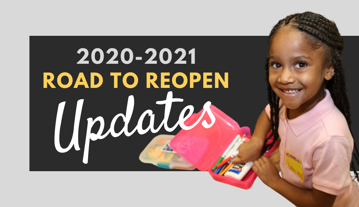 2020-2021 Road to Reopen Updates