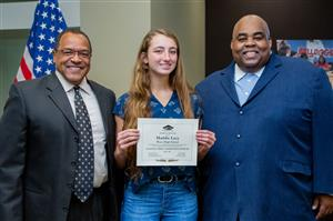 Waco High National Merit Commended Scholar Maddie Lacy