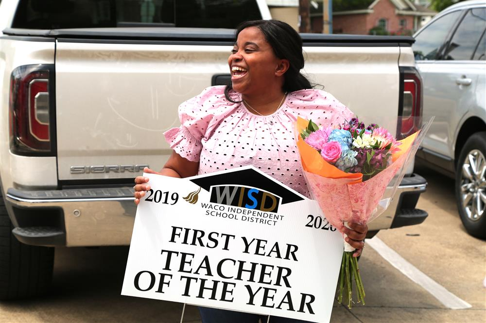Cassandra Benjamin-1st Year Elementary Teacher of the Year