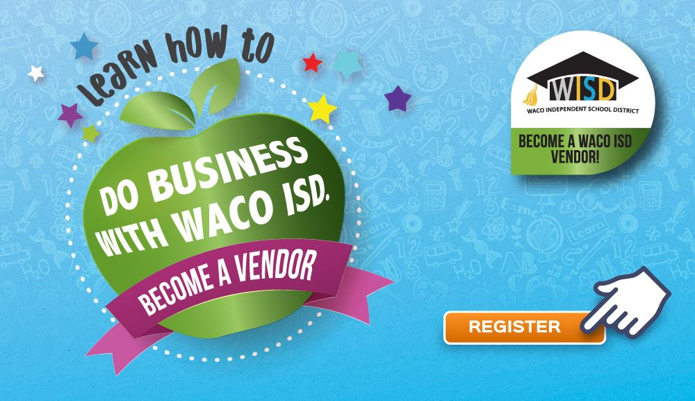 Become a Waco ISD vendor!
