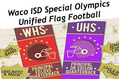 University High School and Waco High School will face off on the gridiron for the second time this year.