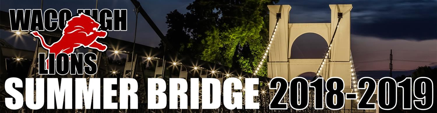 Waco High School Summer Bridge Program