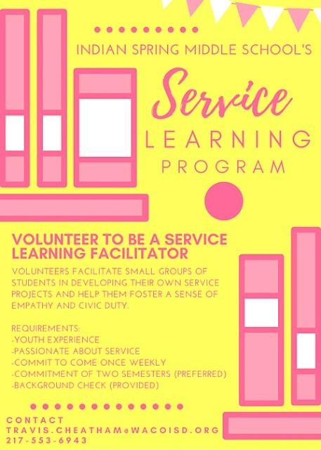 Flyer: Service Learning Program...
