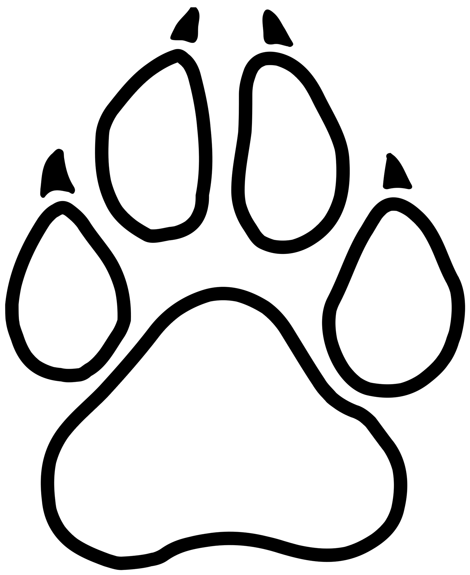 graphic of a little paw print