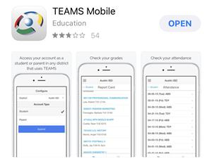 TEAMS Mobile app