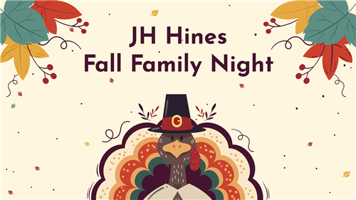 JH Hines Fall Family Night