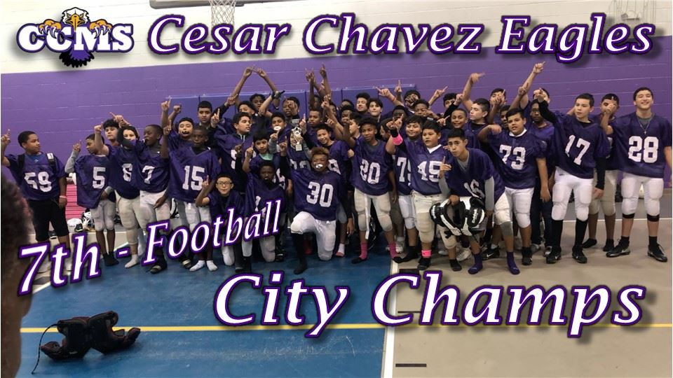 7th Grade Football City Champs