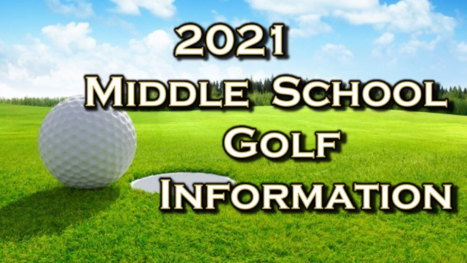 Middle School Golf Information