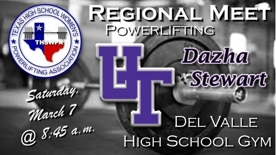 Regional Powerlifting Meet