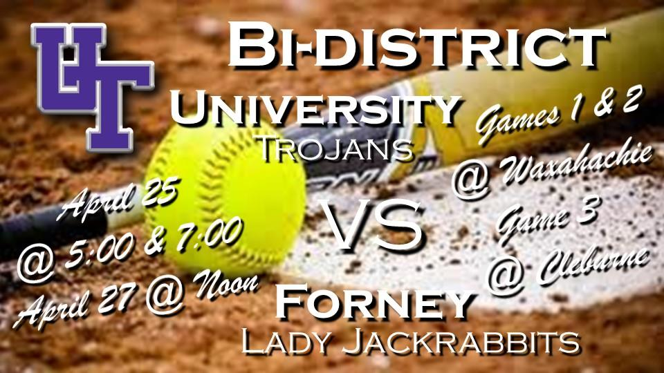 Bi-district Softball