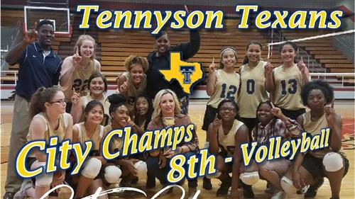 Tennyson Texans are your 8th grade Volleyball City Champs
