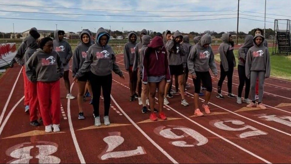 Lady Lions Track and Field Breaking Records