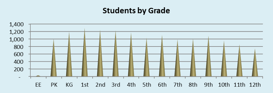 Students by Grade